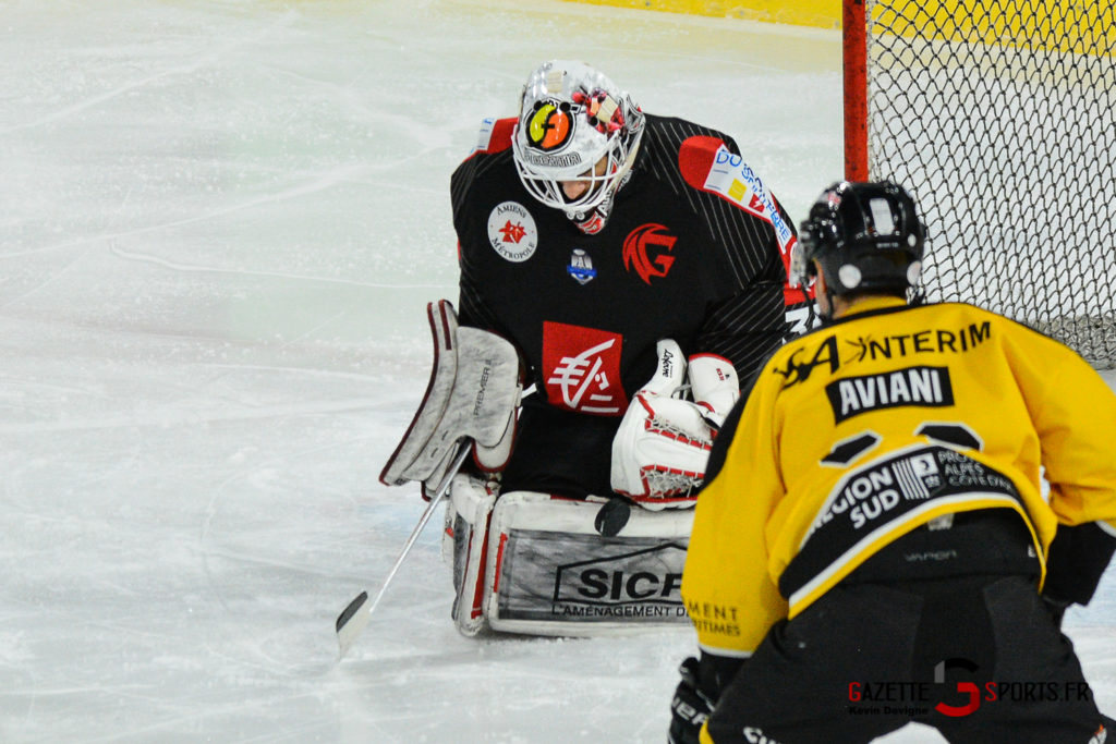 Hockeysurglace Gothiques Vs Nice Kevin Devigne Gazettesports 3