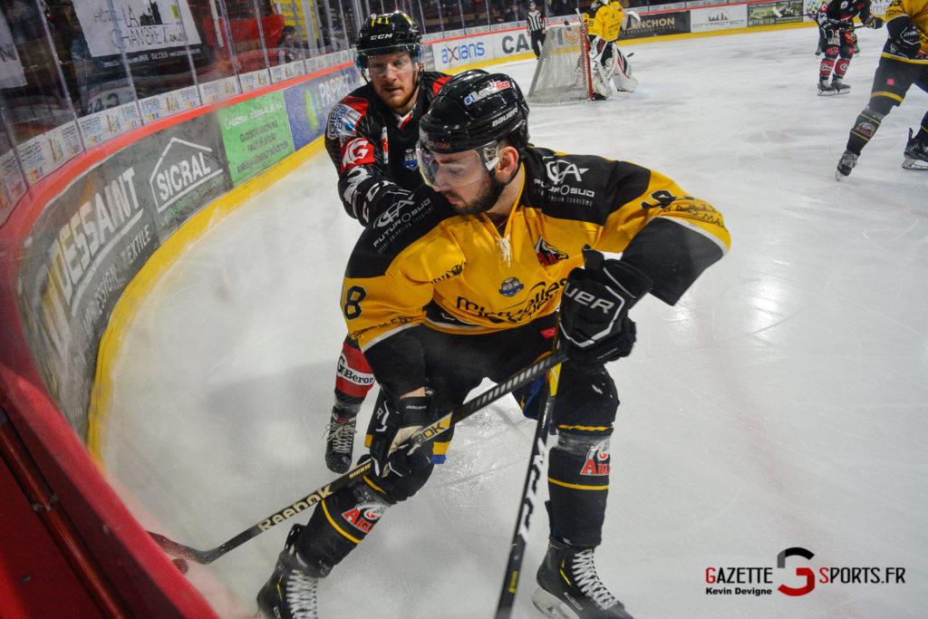 Hockeysurglace Gothiques Vs Nice Kevin Devigne Gazettesports 50