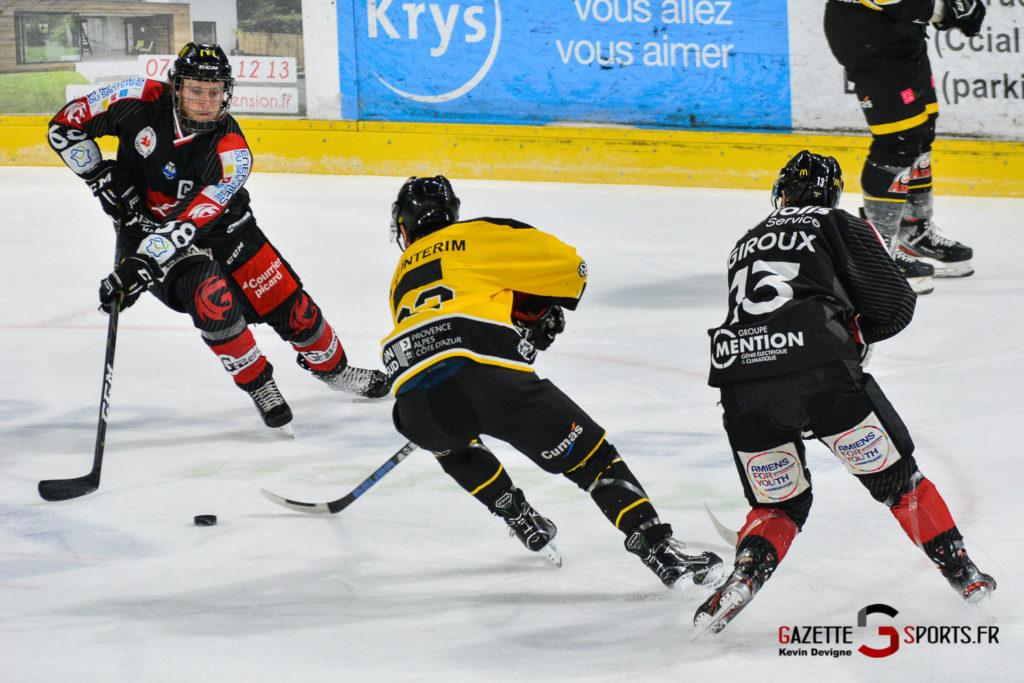 Hockeysurglace Gothiques Vs Nice Kevin Devigne Gazettesports 55