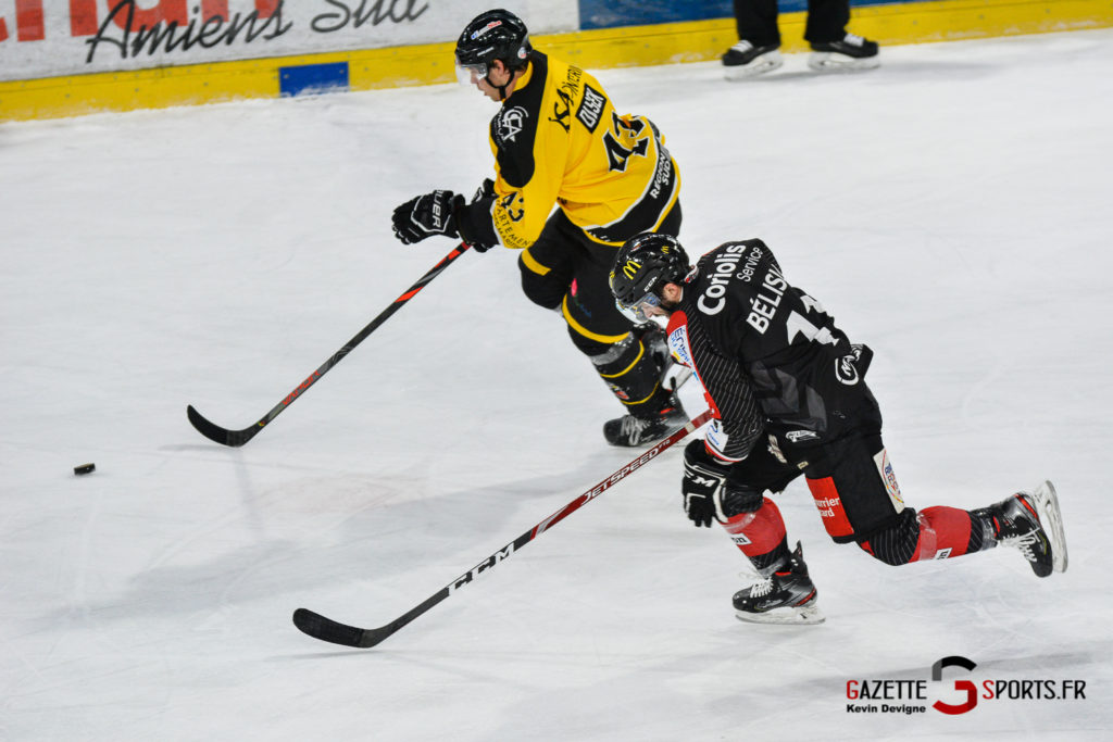 Hockeysurglace Gothiques Vs Nice Kevin Devigne Gazettesports 56