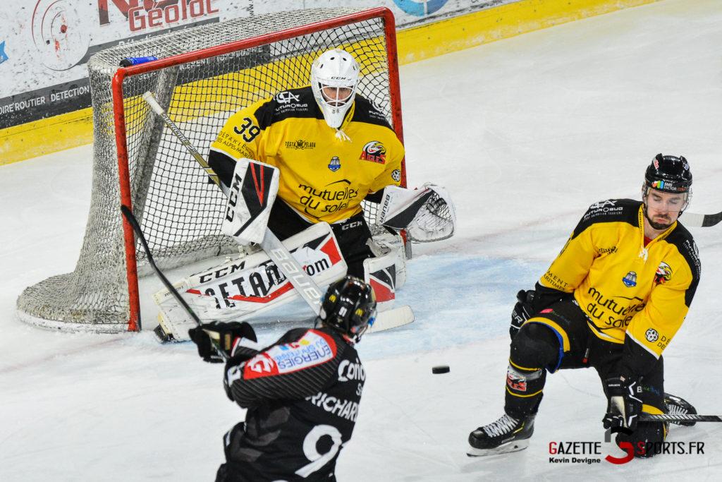 Hockeysurglace Gothiques Vs Nice Kevin Devigne Gazettesports 6