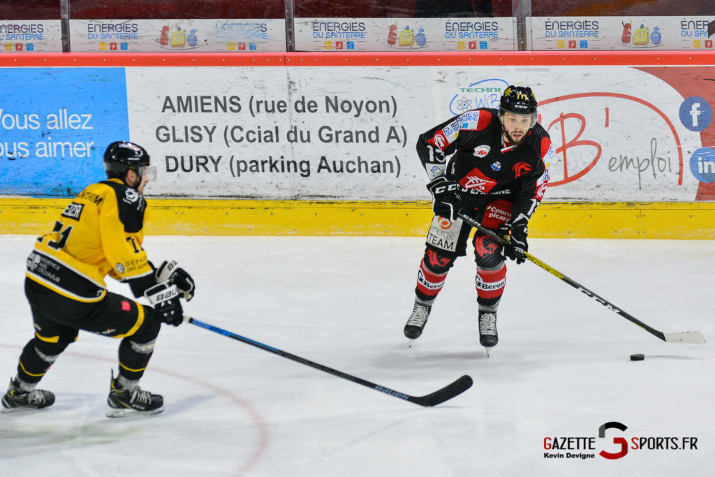 Hockeysurglace Gothiques Vs Nice Kevin Devigne Gazettesports 67