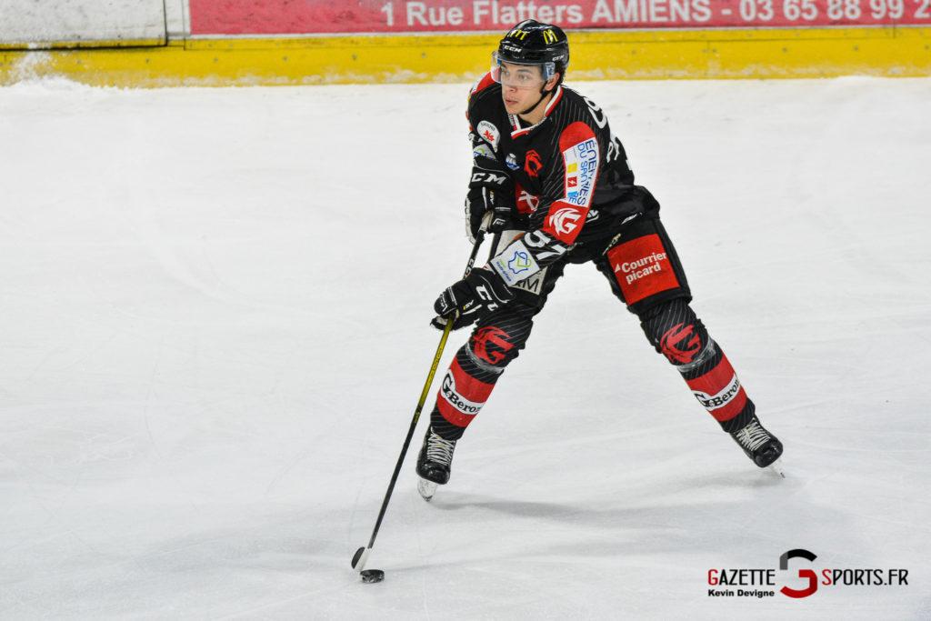Hockeysurglace Gothiques Vs Nice Kevin Devigne Gazettesports 75