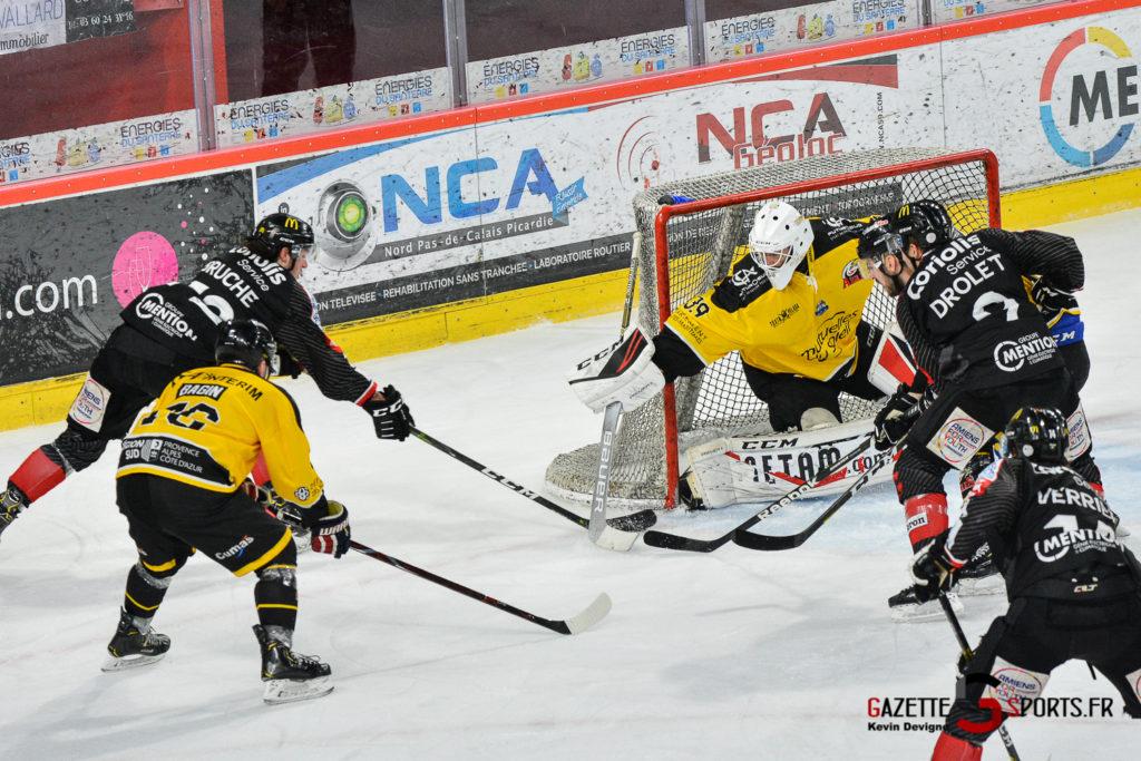 Hockeysurglace Gothiques Vs Nice Kevin Devigne Gazettesports 80