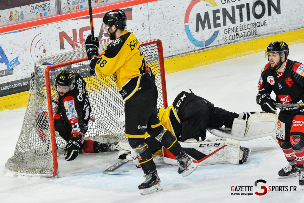Hockeysurglace Gothiques Vs Nice Kevin Devigne Gazettesports 83