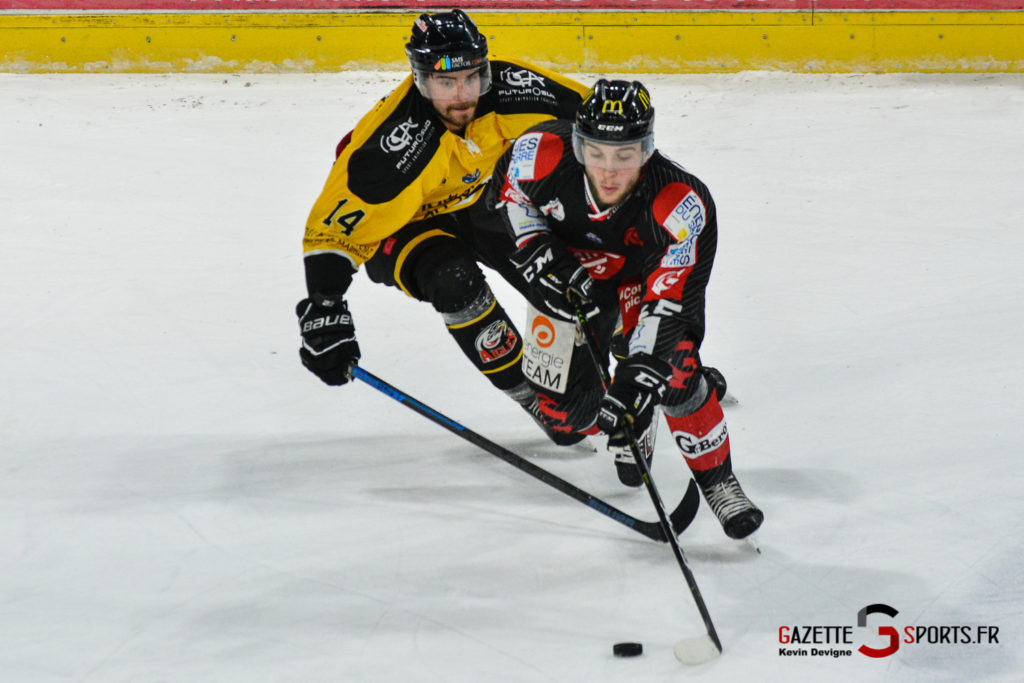 Hockeysurglace Gothiques Vs Nice Kevin Devigne Gazettesports 86
