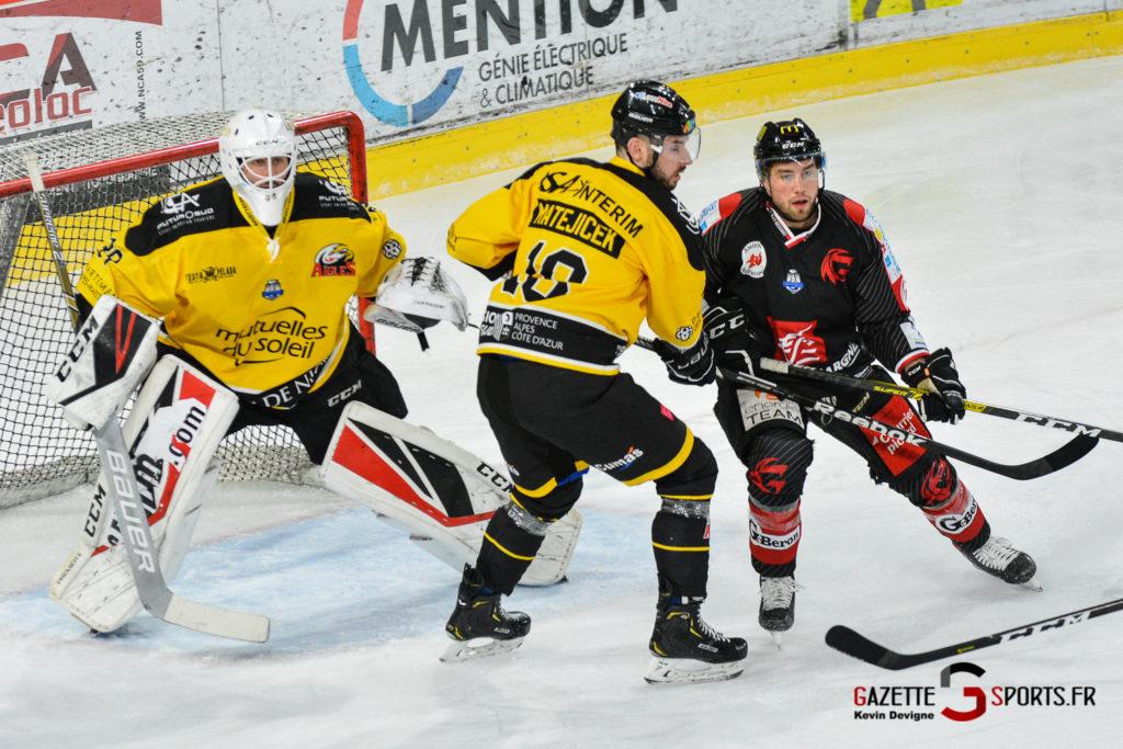 Hockeysurglace Gothiques Vs Nice Kevin Devigne Gazettesports 9