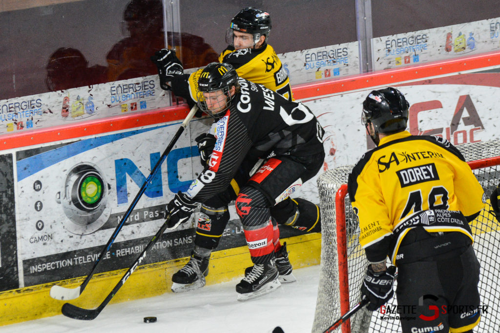 Hockeysurglace Gothiques Vs Nice Kevin Devigne Gazettesports 90