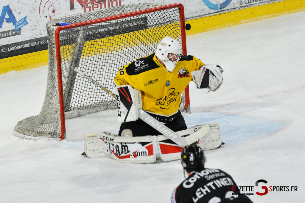 Hockeysurglace Gothiques Vs Nice Kevin Devigne Gazettesports 93