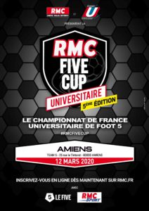 Amiens 2020 Affiche A3 Rmc Five Cup
