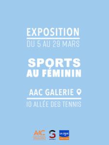 Banniere Exposition Sports Au Feminin