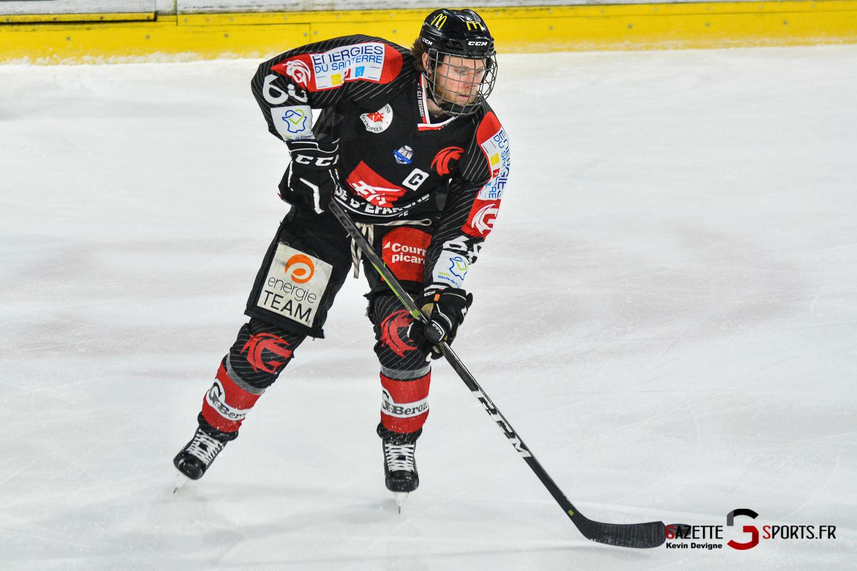 Hockey Sur Glace Gothiques Vs Mulhouse Match5 Kévin Devigne Gazettesports 15