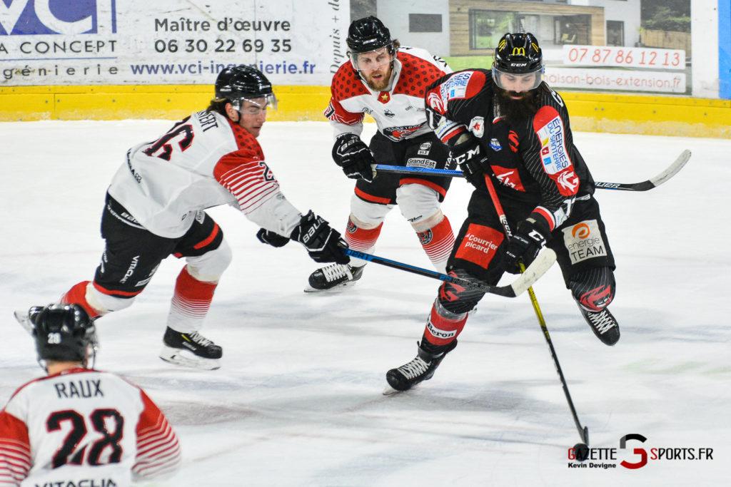 Hockey Sur Glace Gothiques Vs Mulhouse Match5 Kévin Devigne Gazettesports 45