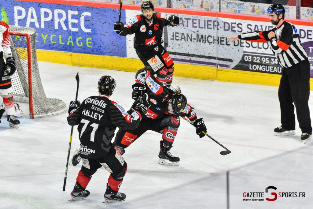 Hockey Sur Glace Gothiques Vs Mulhouse Match5 Kévin Devigne Gazettesports 93