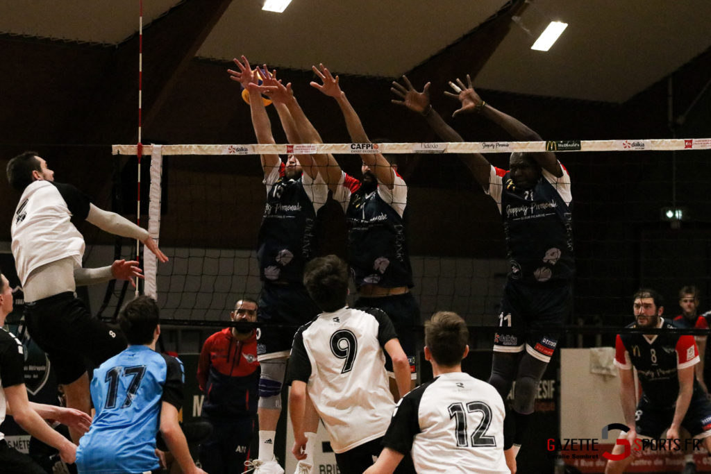 Volley Ball Amvb Vs Rennes Gazettesports Coralie Sombret 16