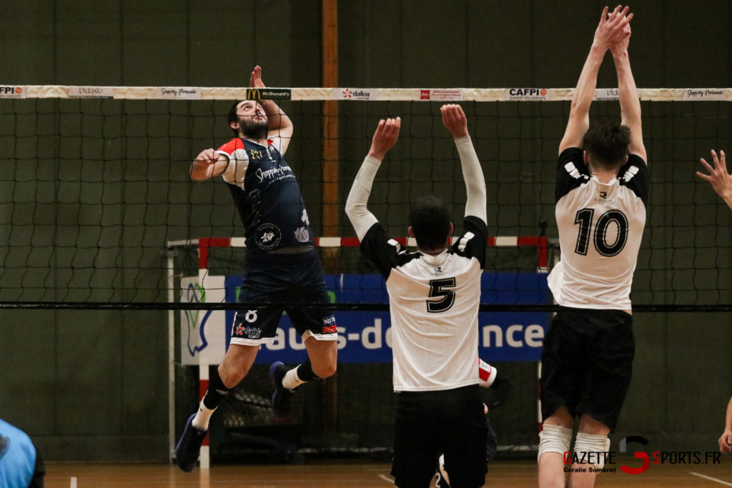 Volley Ball Amvb Vs Rennes Gazettesports Coralie Sombret 20