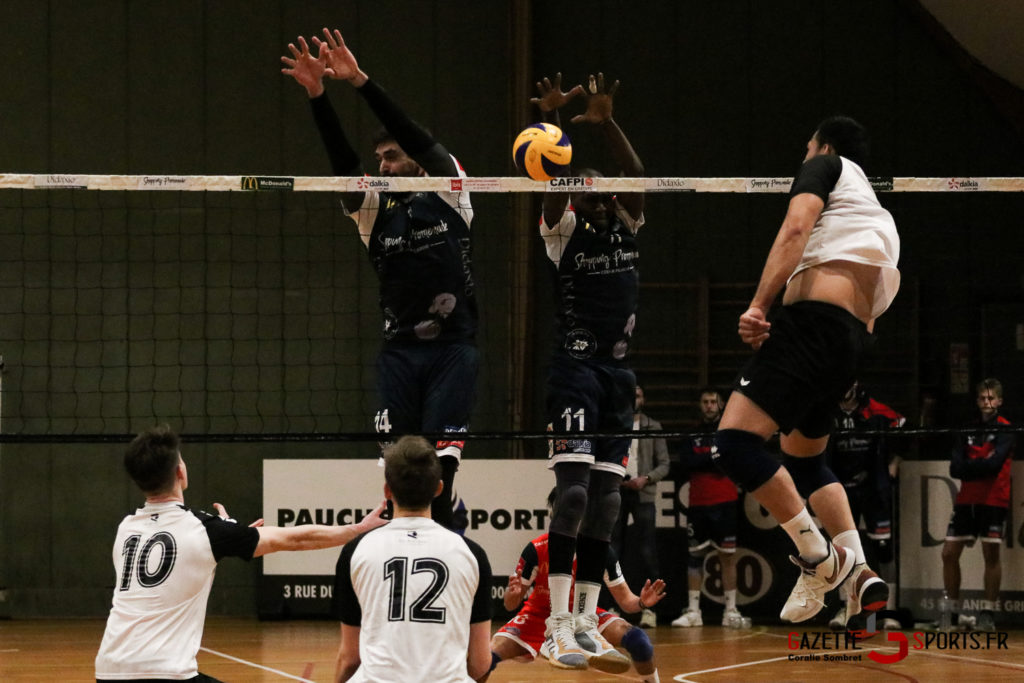 Volley Ball Amvb Vs Rennes Gazettesports Coralie Sombret 21