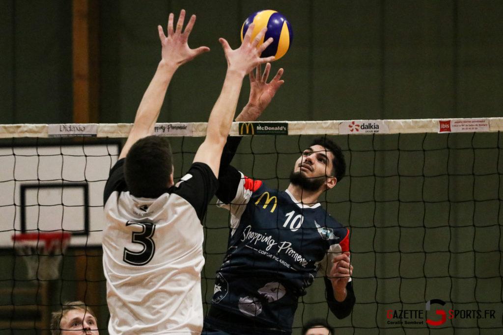Volley Ball Amvb Vs Rennes Gazettesports Coralie Sombret 27 1024x683
