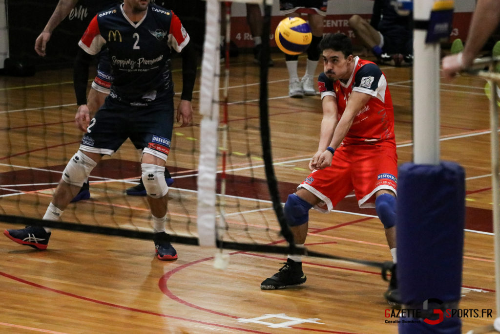 Volley Ball Amvb Vs Rennes Gazettesports Coralie Sombret 5