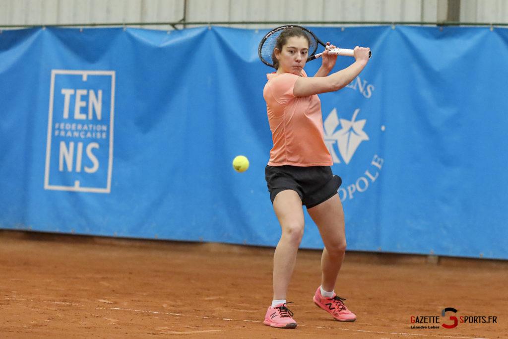 Jade Ponska Aac Tennis Tournoi Itf 20 0020 Leandre Leber Gazettesports