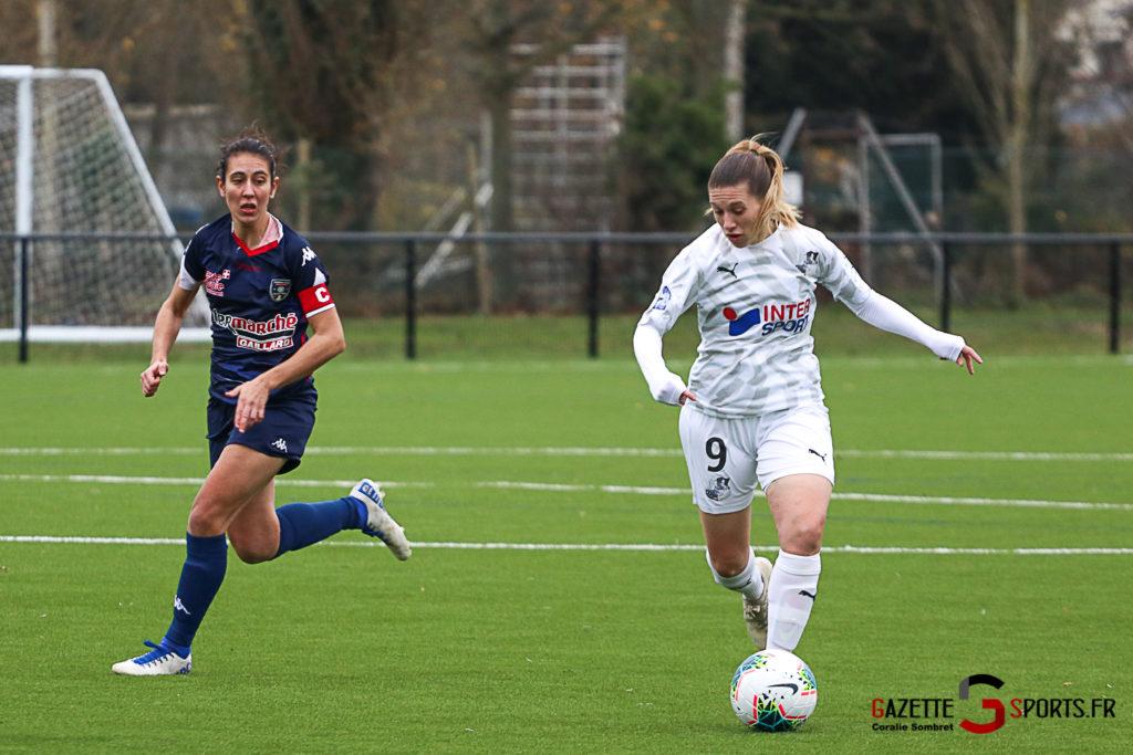 Football Feminin Asc Vs Thonon Evian Gazettesports Coralie Sombret 6 1024x683