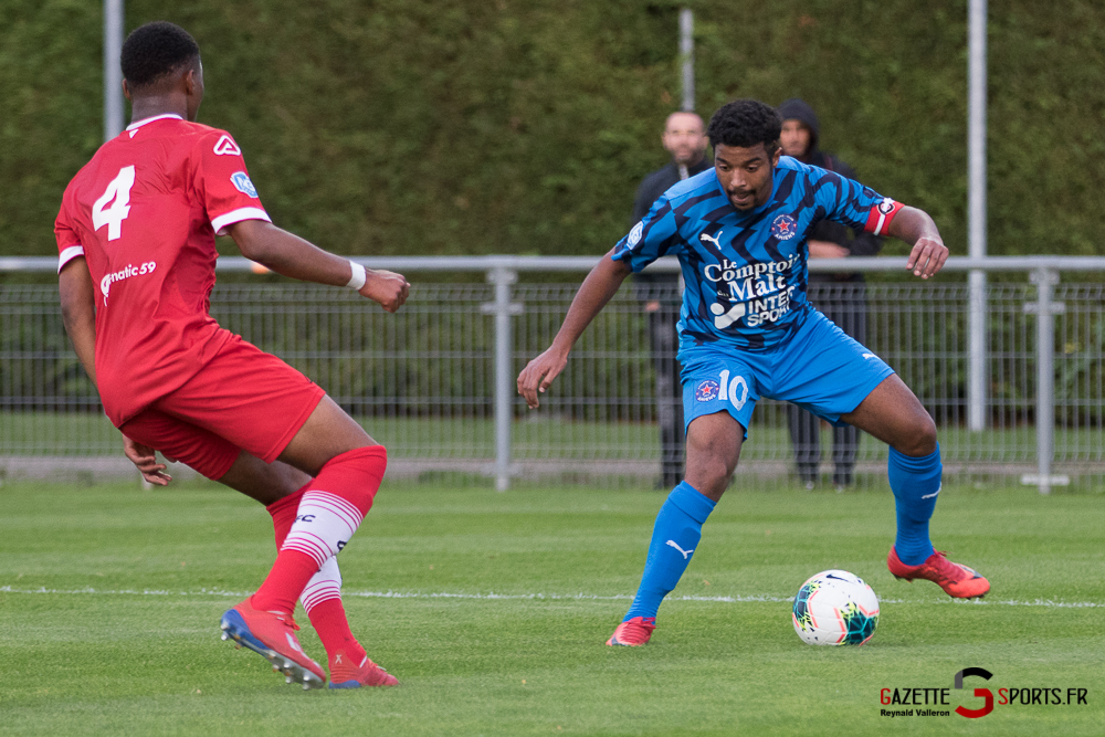 Football Aca Vs Valenciennes Reynald Valleron 25
