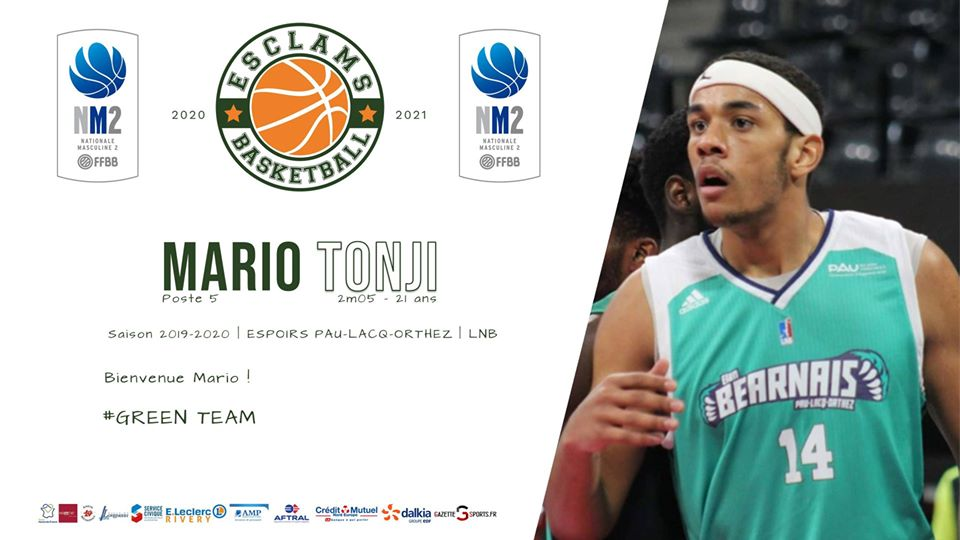 Mario Tonji Basket Ball Esclams