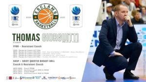 Thomas Giorgutti Esclams Basket Ball