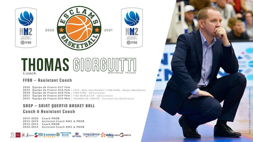 Thomas Giorgutti Esclams Basket Ball