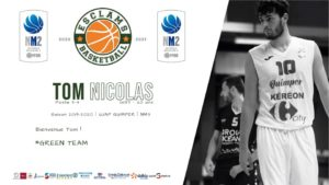 Tom Nicolas Basket Ball Esclams