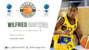 Wilfried Gantswa Esclams Basket Ball