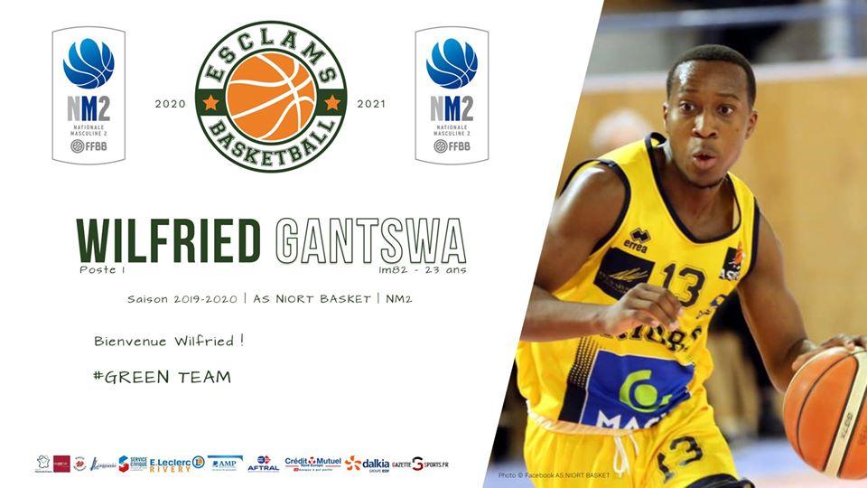 Wilfried Gantswa Esclams Basket Ball
