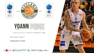 Yoann Duboc Esclams Basket Ball