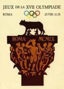 1313341 Affiche Officielle Des Jeux Olympiques De Rome En 1960