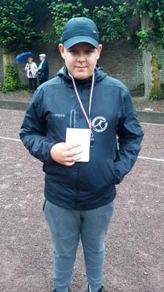 Cyril Joly, Jeune Arbitre Joueur