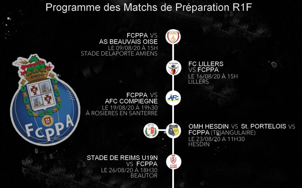 Programme Amicaux Fcppa