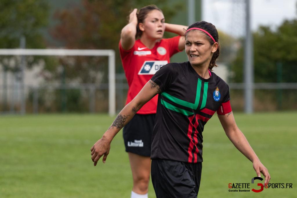 Football Feminin Fc Porto Vs Calais Gazettesports Coralie Sombret 14