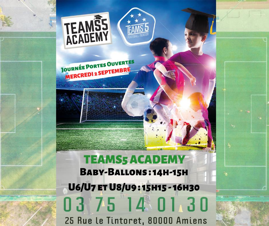 Journée Portes Ouvertes Teams5 Amiens