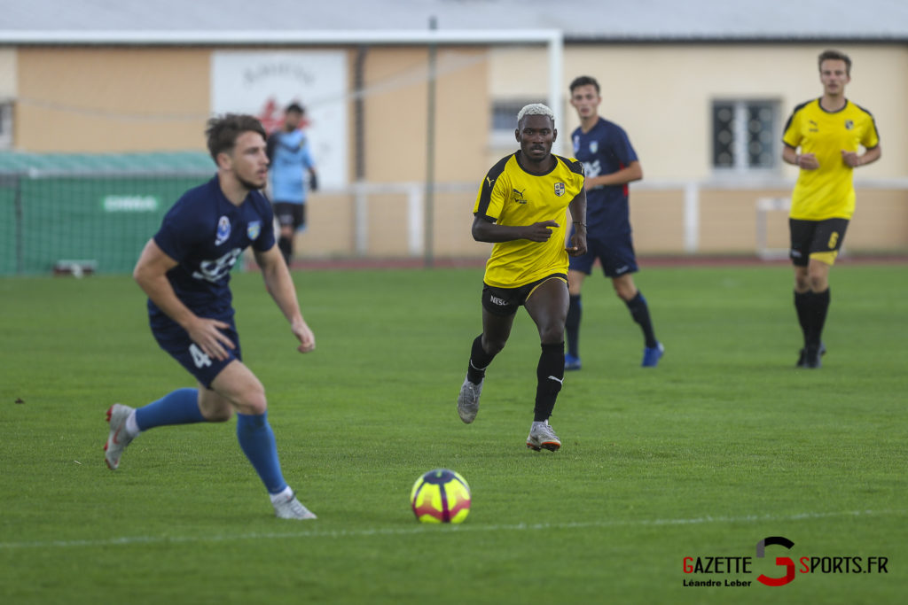 Foot Amical Camon Vs Portugais D Amiens 0004 Leandre Leber Gazettesports