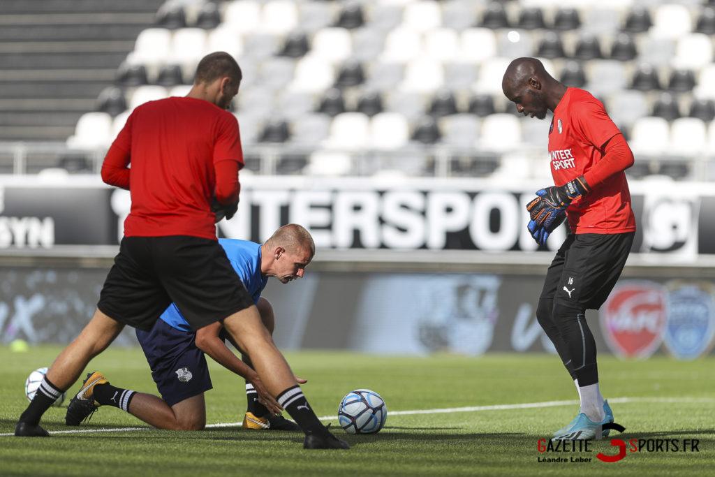 Football Amical Amiens Sc Vs Chambly 0001 Leandre Leber Gazettesports