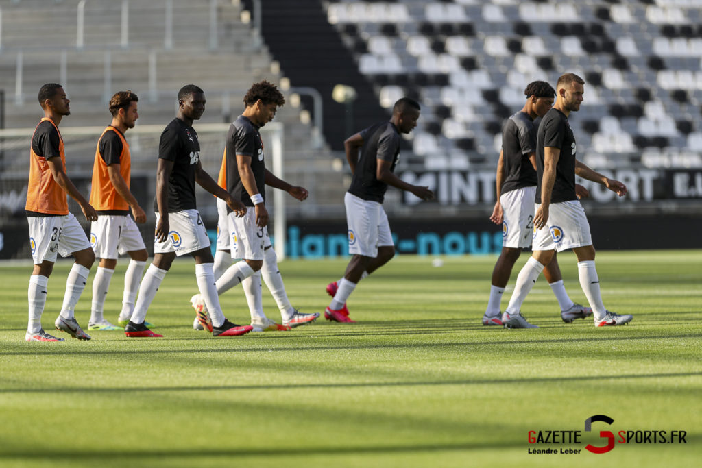 Football Amical Amiens Sc Vs Chambly 0006 Leandre Leber Gazettesports
