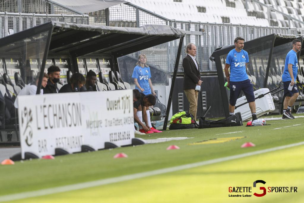 Football Amical Amiens Sc Vs Chambly 0007 Leandre Leber Gazettesports