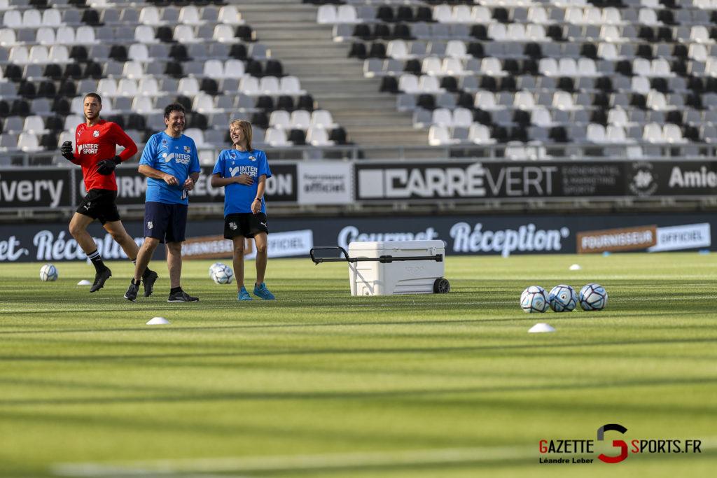 Football Amical Amiens Sc Vs Chambly 0010 Leandre Leber Gazettesports