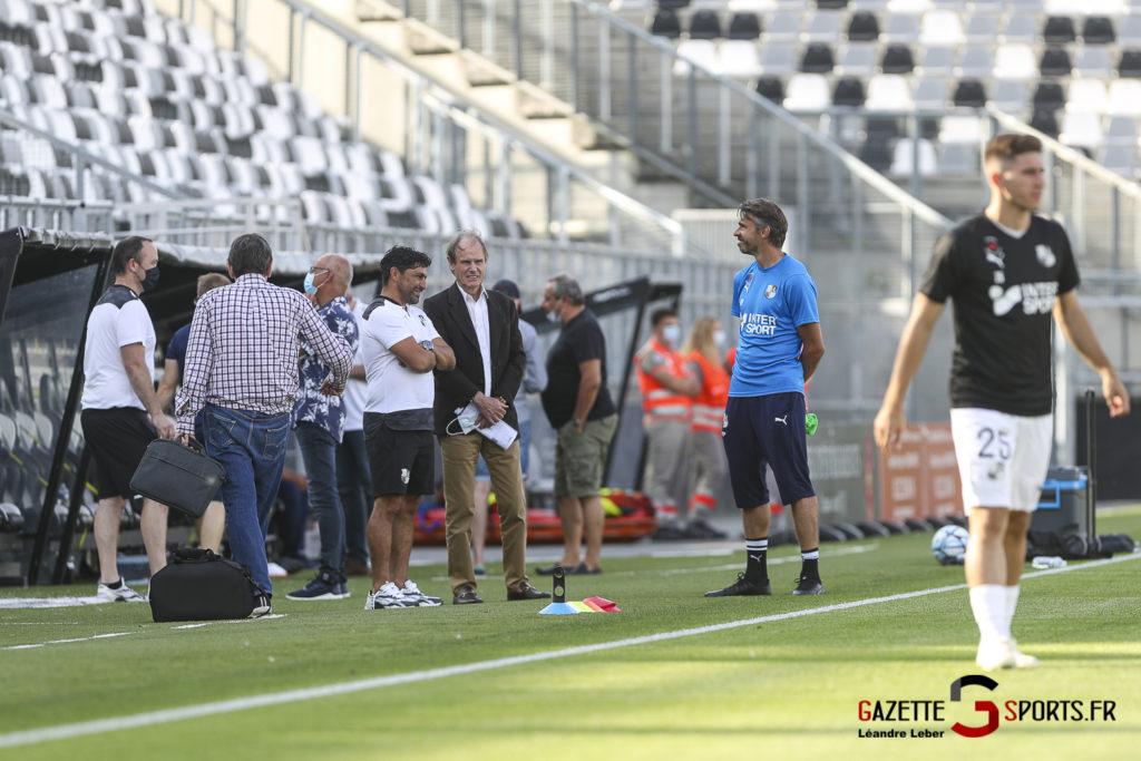 Football Amical Amiens Sc Vs Chambly 0011 Leandre Leber Gazettesports