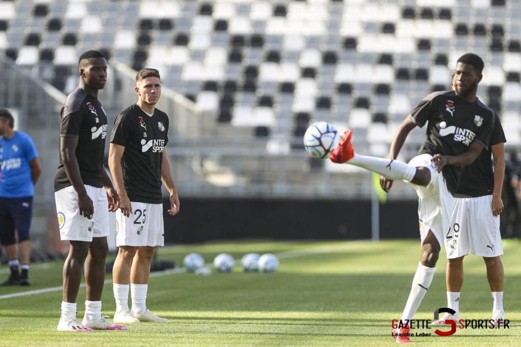 Football Amical Amiens Sc Vs Chambly 0012 Leandre Leber Gazettesports