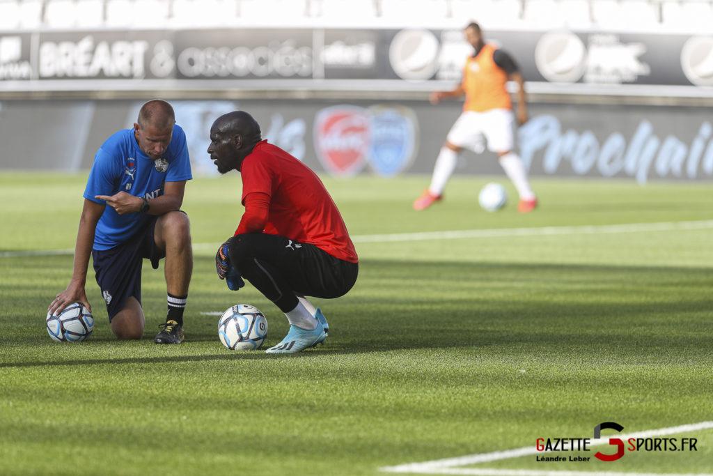 Football Amical Amiens Sc Vs Chambly 0016 Leandre Leber Gazettesports