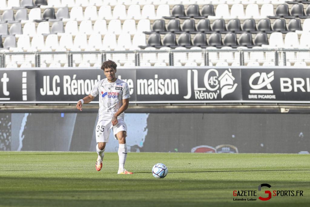 Football Amical Amiens Sc Vs Chambly 0021 Leandre Leber Gazettesports