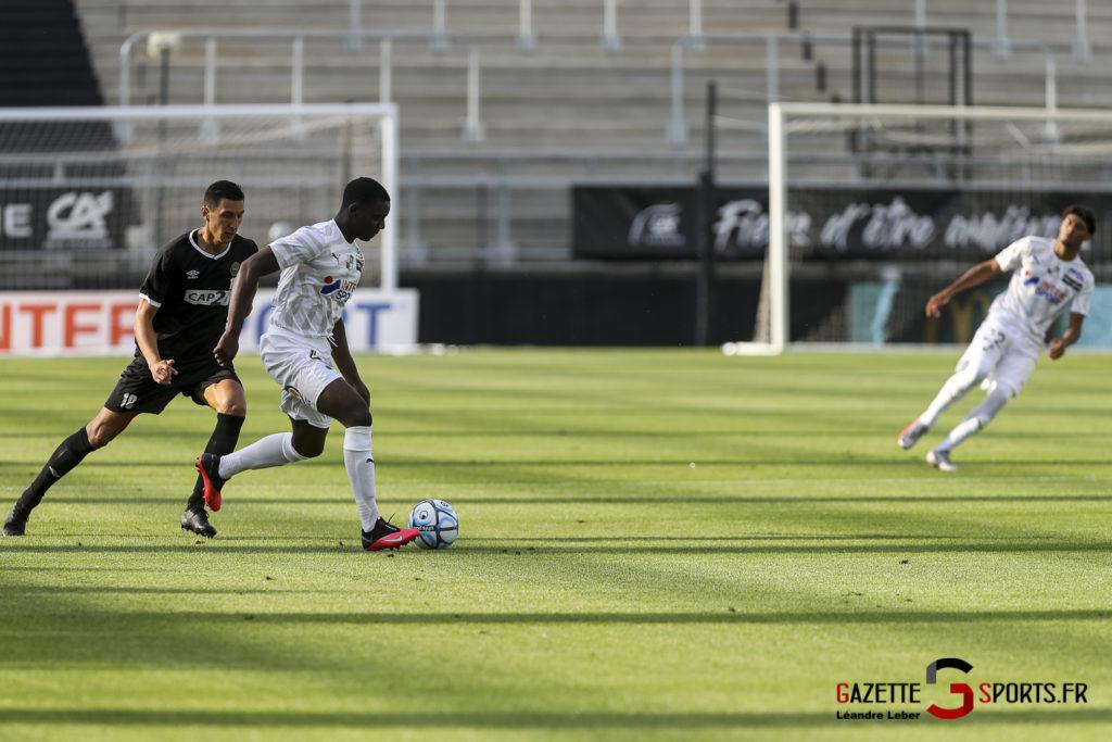 Football Amical Amiens Sc Vs Chambly 0022 Leandre Leber Gazettesports