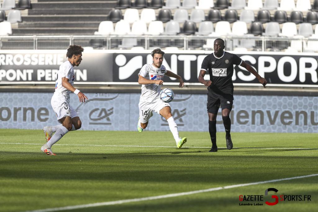 Football Amical Amiens Sc Vs Chambly 0025 Leandre Leber Gazettesports