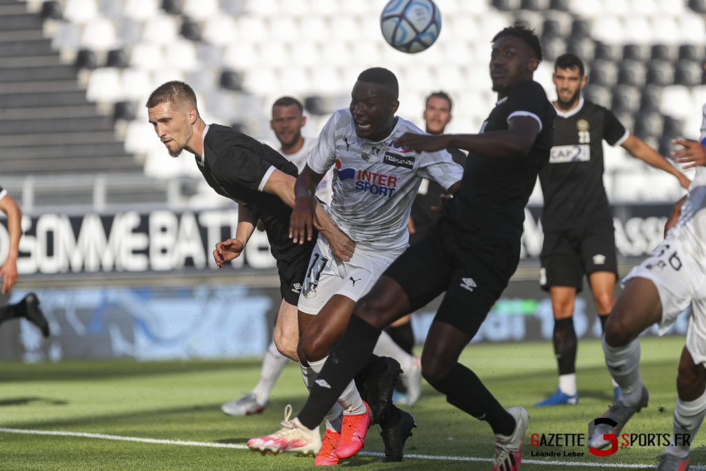 Football Amical Amiens Sc Vs Chambly 0029 Leandre Leber Gazettesports